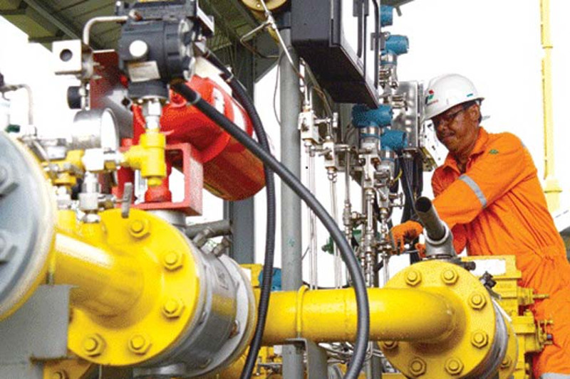 kenaikan gas industri