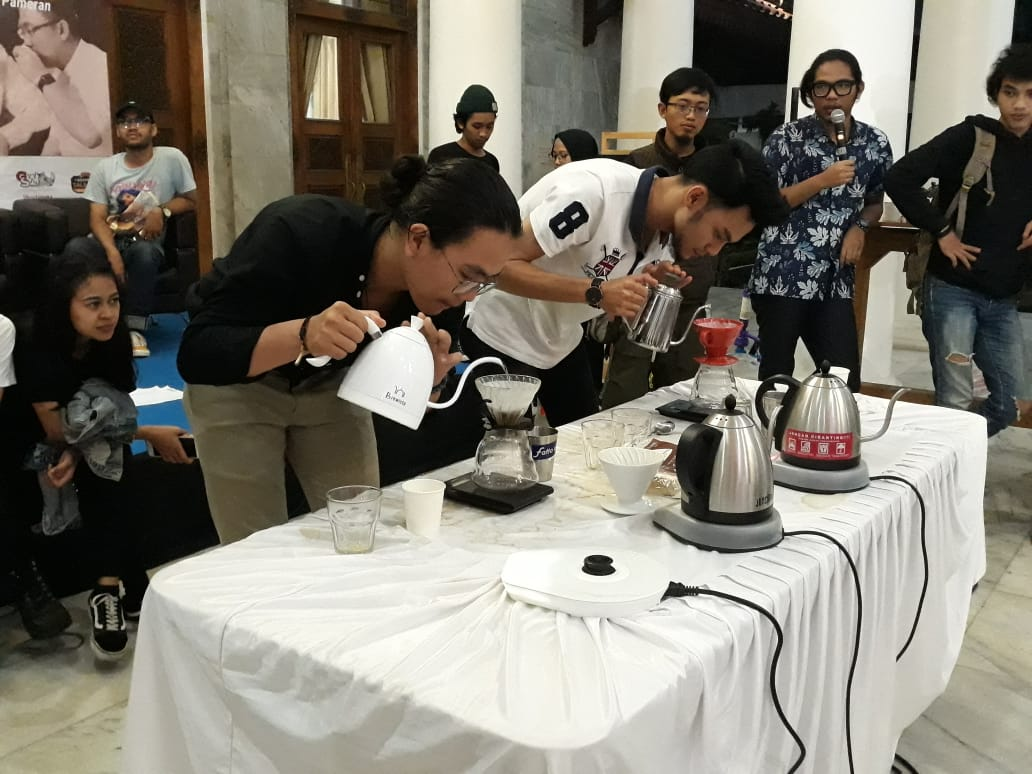 Catatan Lomba Seduh Manual Festival Kopi Banten Vol 1