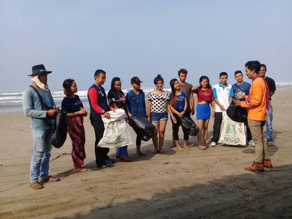 Genpi Lebak Sukseskan Gerakan World Cleanup Day 2018