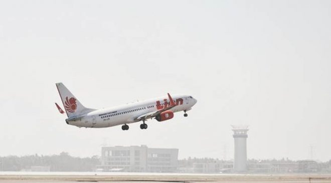 lion air takeof adisutjipta
