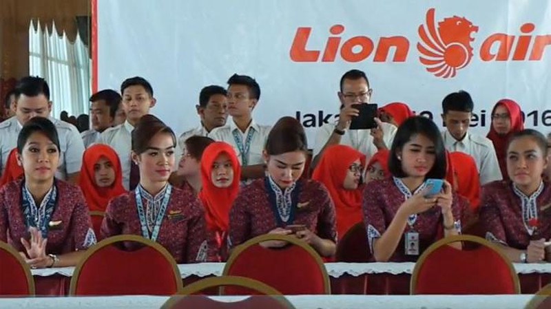 tenaga kerja lion air group