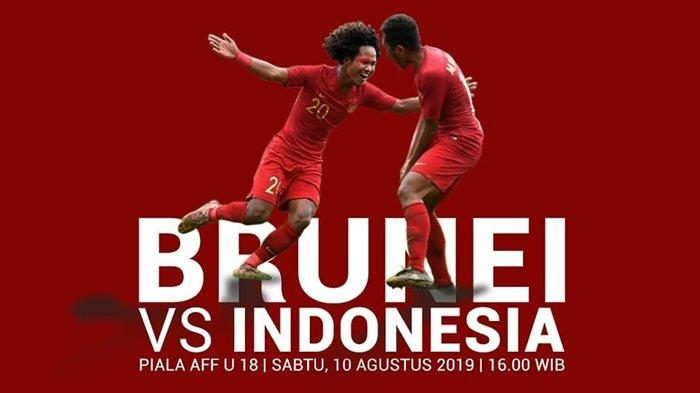 timnas Indonesia VS Brunai U 18